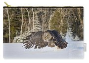 Great Gray Owl Pictures 740 Carry-all Pouch