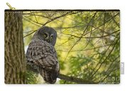 Great Gray Owl Pictures 779 Carry-all Pouch