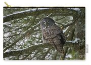Great Gray Owl Pictures 780 Carry-all Pouch