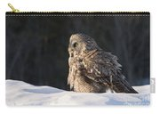 Great Gray Owl Pictures 788 Carry-all Pouch