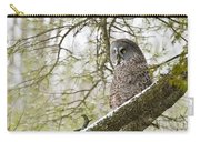 Great Gray Owl Pictures 804 Carry-all Pouch