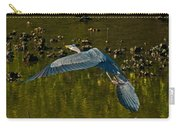 Great Heron Over Oyster Beds Carry-all Pouch