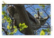 Great Horned Owl 5 Carry-all Pouch