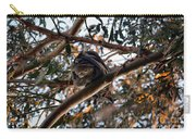 Great Horned Owl Looking Down  Carry-all Pouch
