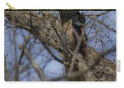 Great Horned Owl On Watch Carry-all Pouch