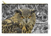 Great Horned Owl V6 Carry-all Pouch