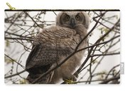 Great Horned Owlet 2 Carry-all Pouch
