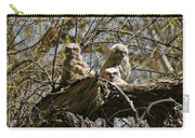 Great Horned Owlets Photo Carry-all Pouch