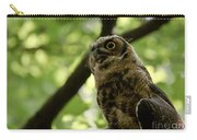 Great Horned Youngster Carry-all Pouch
