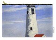 Great Point Lighthouse Nantucket Massachusetts Carry-all Pouch