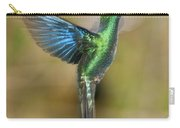 Great Sapphirewing Hummingbird Carry-all Pouch