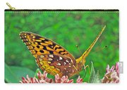 Great Spangled Fritillary Butterfly - Speyeria Cybele Carry-all Pouch