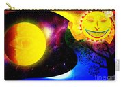 Great Sun Jester And The Night Sky Carry-all Pouch
