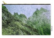 Great Wall 0043 -  Watercolor 2 Sl Carry-all Pouch