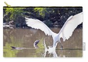 Great White Egret Fishing Sequence 2 Carry-all Pouch