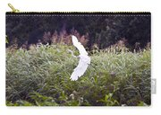 Great White Egret Flying 2 Carry-all Pouch