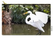 Great White Egret Show Off Carry-all Pouch