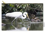 Great White Egret Splash 2 Carry-all Pouch
