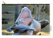 Great White Pelicans Carry-all Pouch