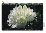 Great White Rhododendron Carry-all Pouch