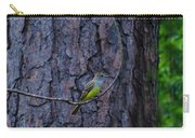 Greater Crested Flycatcher Carry-all Pouch