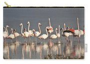 Greater Flamingos At Laguna De La Fuente De Piedra Carry-all Pouch