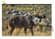 Greater Kudu Grazing Carry-all Pouch