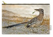 Greater Roadrunner With Nest Material Carry-all Pouch
