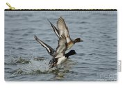 Greater Scaup Pair Carry-all Pouch