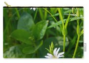 Greater Stitchwort Stellaria Carry-all Pouch