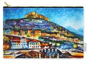 Greece Lesbos Island 2 Carry-all Pouch by Leonid Afremov
