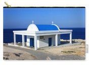 Greek Chapel Near The Sea Carry-all Pouch