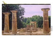 Greek Ruins At Olympia Carry-all Pouch