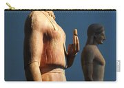 Greek Sculpture Athens 1 Carry-all Pouch by Bob Christopher