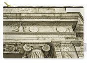 Greek Theatre 5 Golden Age Carry-all Pouch by Angelina Vick