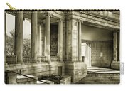Greek Theatre 7 Golden Age Carry-all Pouch by Angelina Vick