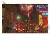 Greektown Night Carry-all Pouch