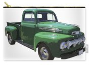 Green 1951 Ford F-1 Pick Up Truck Illustration  Carry-all Pouch