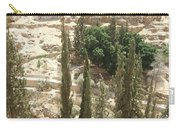 Green Among Cliffs Carry-all Pouch