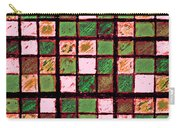 Green And Brown Sudoku Carry-all Pouch