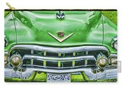 Green And Chrome-hdr Carry-all Pouch