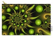 Green And Gold Carry-all Pouch