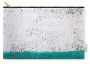 Green And White Wall Texture Carry-all Pouch