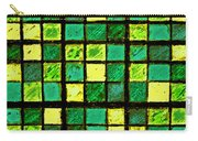 Green And Yellow Sudoku Carry-all Pouch
