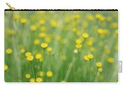 Green And Yellow Vintage Carry-all Pouch