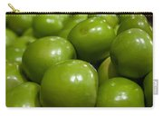 Green Apples On Display At Farmers Market Carry-all Pouch