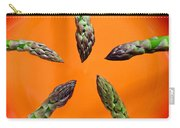 Green Asparagus - Fresh Food Photography Carry-all Pouch