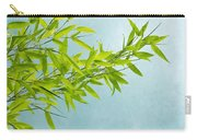 Green Bamboo Carry-all Pouch by Priska Wettstein
