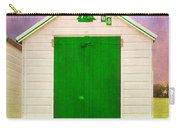 Green Beach Hut Carry-all Pouch