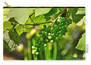 Green Berries Carry-all Pouch by Kaye Menner